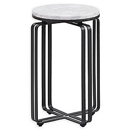Madison Park Hamilton Accent Table in Black