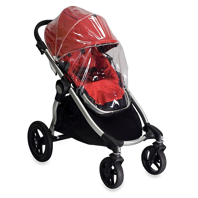 Alternate image 1 for Baby Jogger® City Select® Single Stroller Rain Canopy