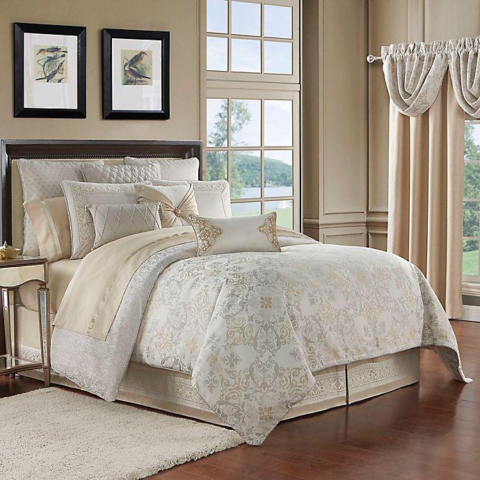 Alternate image 1 for Waterford® Shelah Reversible Comforter Set
