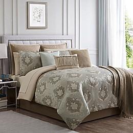 Serena Jacquard Weave 14-Piece Comforter Set