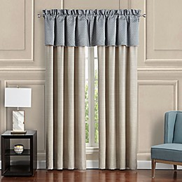 Waterford® Baylen 84-Inch Rod Pocket Window Curtain Panel Pair in Dusty Blue