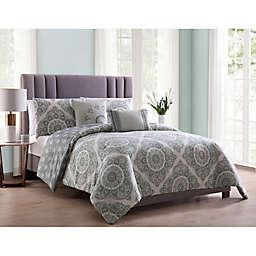 MHF Home Eva Reversible Comforter Set