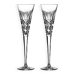 Waterford® 2020 Times Square Gift of Goodwill Champagne Flutes (Set of 2)