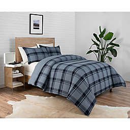 Pendleton® Bayshore 2-Piece Reversible Plaid Twin XL Comforter Set in Navy