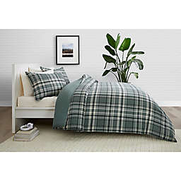 Pendleton® Stanfield 2-Piece Reversible Plaid Twin XL Comforter Set in Shale