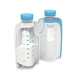 Kiinde™ Twist Pouch 20-Count 6 oz. Direct-Pump Breastmilk Storage Pouches