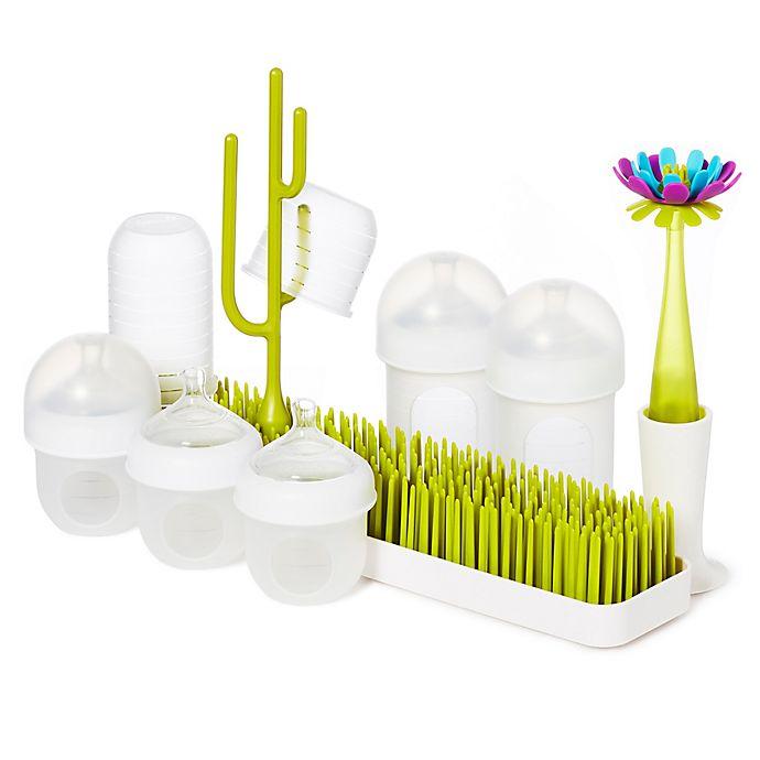 Alternate image 1 for Boon NURSH® BUNDLE™ Bottles & Accessories Starter Set in White