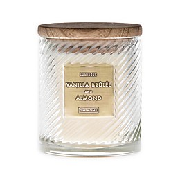 Vanilla Brûlée & Almond 10 Oz. Scented Candle in White