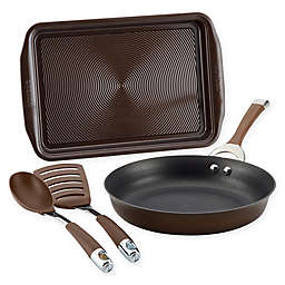 Circulon® Symmetry™ Nonstick Hard-Anodized 4-Piece Cookware Set in Chocolate