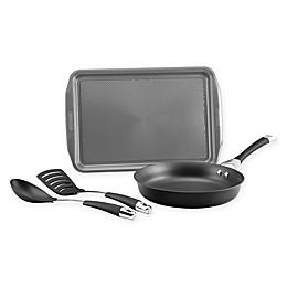 Circulon® Symmetry™ Nonstick Hard-Anodized 4-Piece Cookware Set in Black