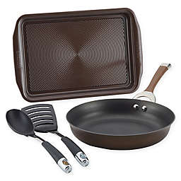 Circulon® Symmetry™ Nonstick Hard-Anodized 4-Piece Cookware Set in Chocolate/Black
