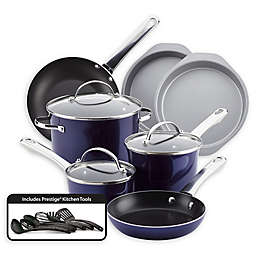 Farberware Luminescence™ 16-Piece Aluminum Nonstick Cookware Set