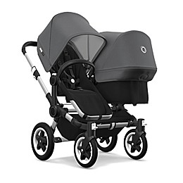 Bugaboo Donkey2 Duo Complete Extension Seat Set in Grey Melange