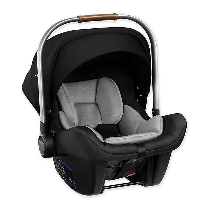Alternate image 1 for Nuna® Pipa™ Lite Infant Car Seat in Cavier Black/Grey