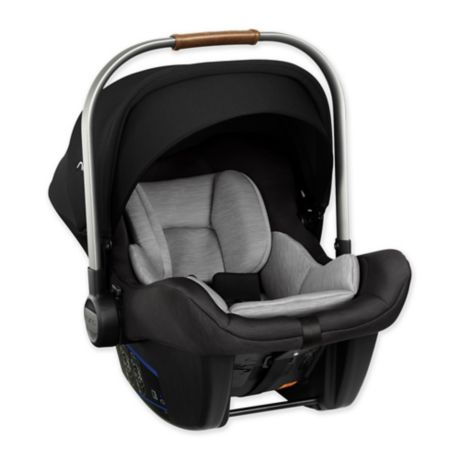 Nuna Pipa Lite Infant Car Seat in Cavier Black/Grey