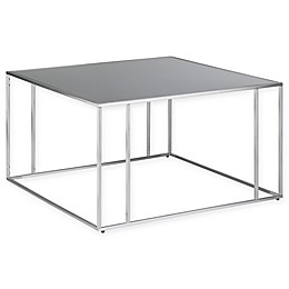 SimpliHome™ Sloan Stainless Steel Coffee Table