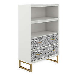 CosmoLiving by Cosmopolitan Scarlett Bookcase with Drawers