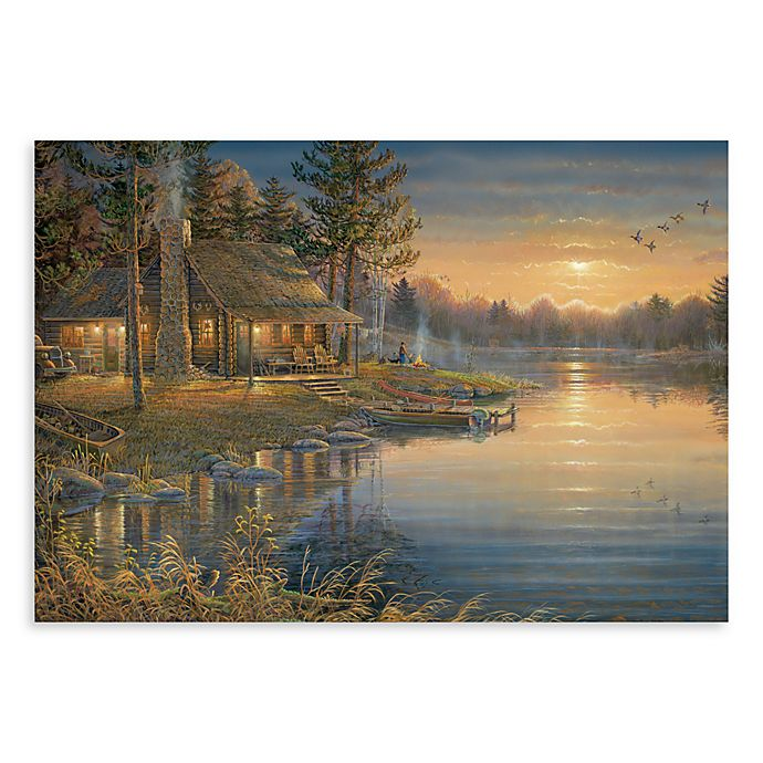 Alternate image 1 for Surfaces A Peaceful Place 18-Inch x 27-Inch Kitchen Floormat