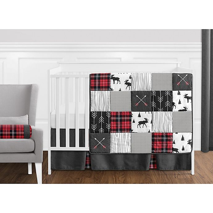 Alternate image 1 for Sweet Jojo Designs® Rustic Patch Crib Bedding Collection
