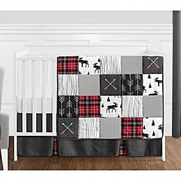 Sweet Jojo Designs® Rustic Patch 4-Piece Crib Bedding Set