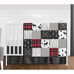 Sweet Jojo Designs® Rustic Patch 4-Piece Crib Bedding Set