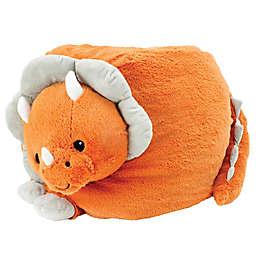 Soft Landing™ Dinosaur Bean Bag Chair in Orange