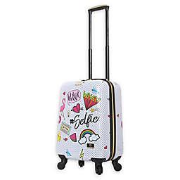 Halina Nikki Chu Whatever 20-Inch Hardside Spinner Suitcase