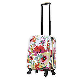 Halina Collier Campbell Secret Garden 20-Inch Hardside Spinner Carry On Luggage