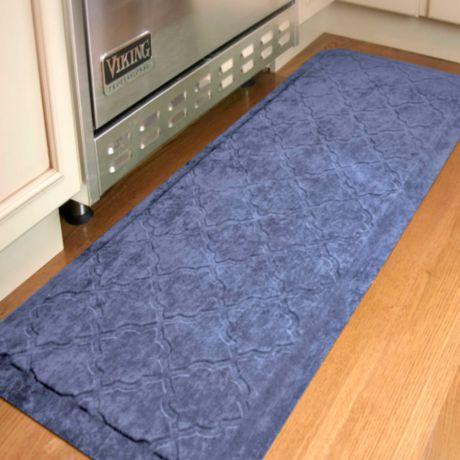 Comfort Pro Onyx 2 Foot X 5 Foot Kitchen Mats Bed Bath
