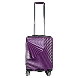 Solite Savona Expandable 22-Inch Hardside Spinner Carry On Luggage