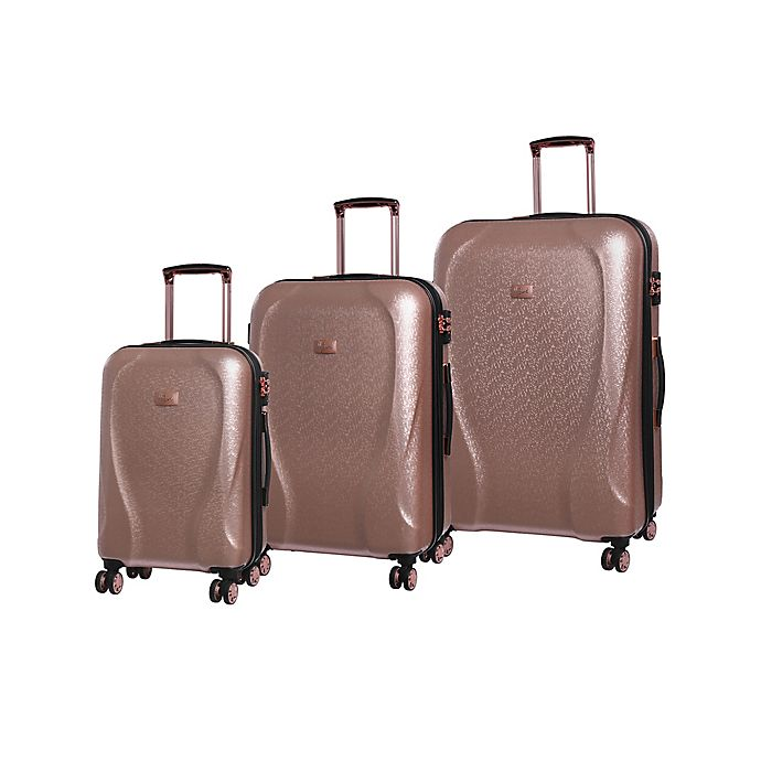 7d9b6f15c it Girl Sparkle Hardside Spinner Luggage Collection | Bed Bath & Beyond