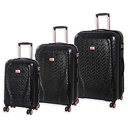 it Girl Sparkle 3-Piece Hardside Spinner Luggage Set