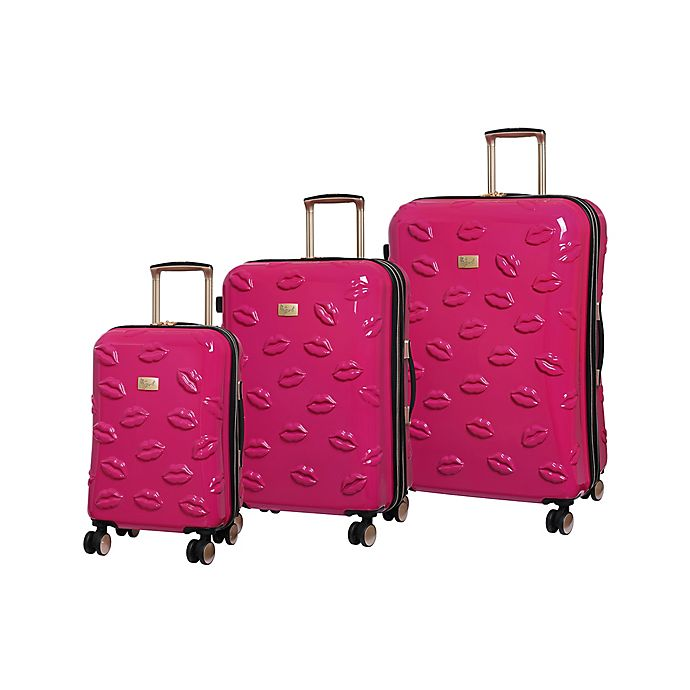 Alternate image 1 for it Girl Pout Smooch Hardside Spinner Luggage Collection