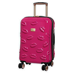 it Girl Pout Smooch 21-Inch Hardside Spinner Carry On Luggage
