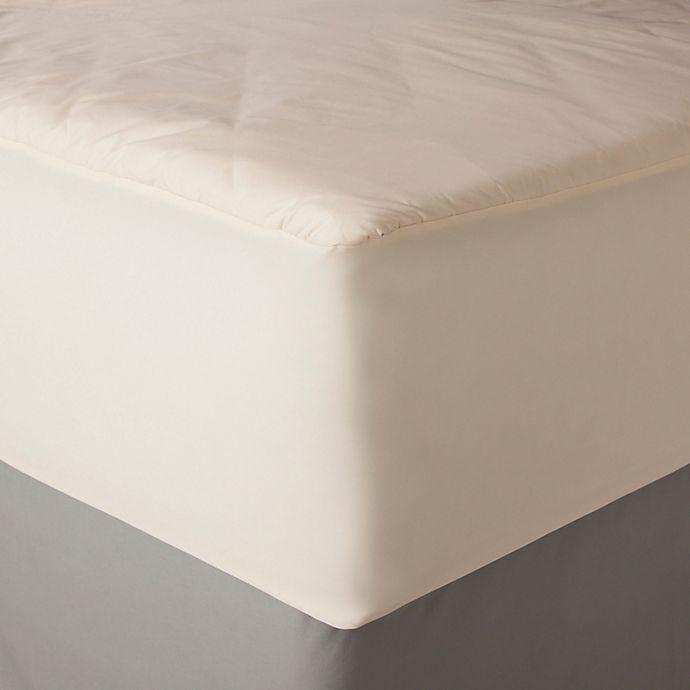 Alternate image 1 for AllerEase Naturals Organic Cotton Waterproof Mattress Pad