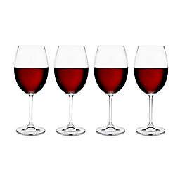 Meridian Crystal Red Wine Glasses (Set of 4)