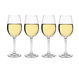 Meridian Crystal White Wine Glasses (Set of 4)
