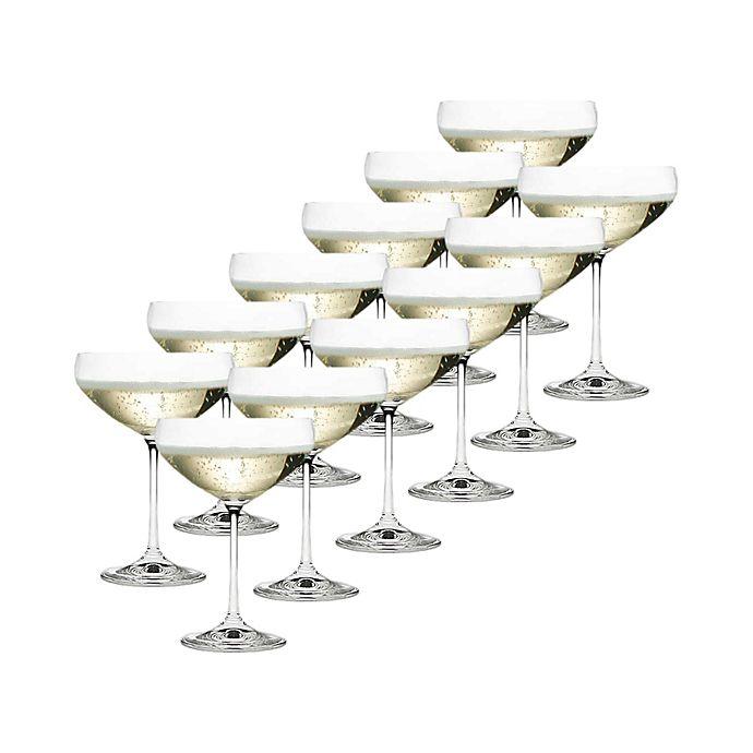 Alternate image 1 for Godinger® Meridian Champagne Coupe Glasses (Set of 12)