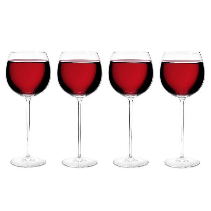 Alternate image 1 for Olivia & Oliver™ Madison 23 oz. Red Wine Glasses (Set of 4)