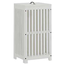 Hillsdale Furniture Highlands Clothes Hamper in White