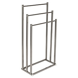 Honey-Can-Do 3-Tier Towel Rack in Silver