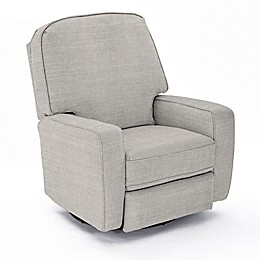 Best Chairs Custom Bilana Swivel Glider Recliner