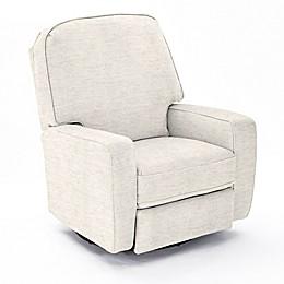 Best Chairs Custom Bilana Swivel Glider Recliner