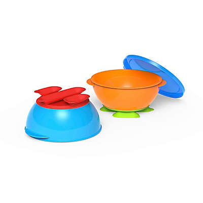 First Essentials by NUK® 2-Pack Tri-Suction Bowls