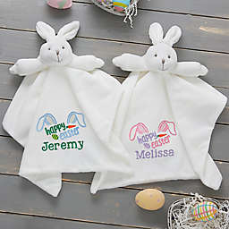 Happy Easter Bunny Security Blanket