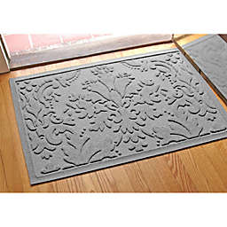 Weather Guard™ Damask 23-Inch x 35-Inch Door Mat