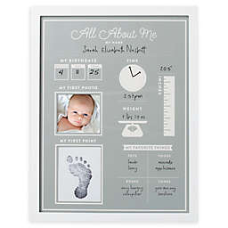 Pearhead® All About Me Baby's 1st Year Frame and Clean-Touch Ink Pad