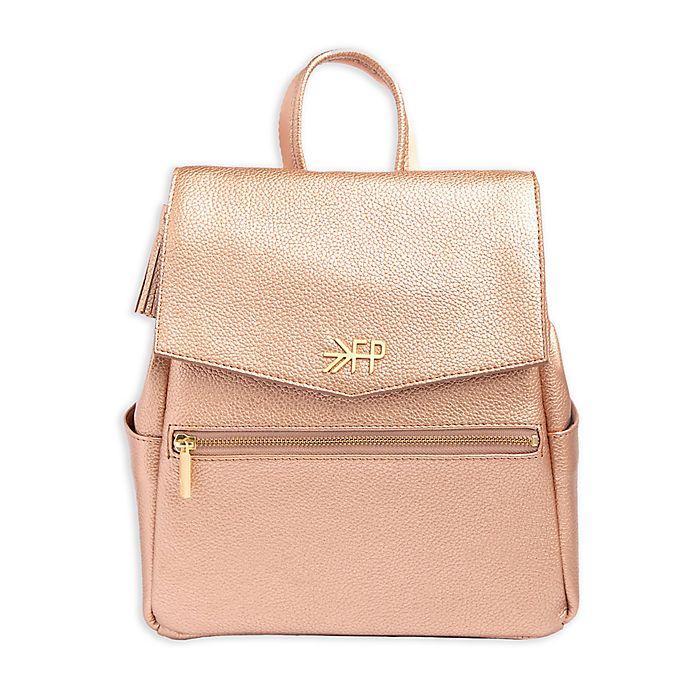 Alternate image 1 for Freshly Picked Mini Diaper Bag in Rose Gold