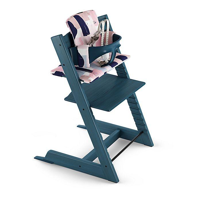 Alternate image 1 for Stokke® Tripp Trapp® Paintbrush High Chair Pad Cushion Set