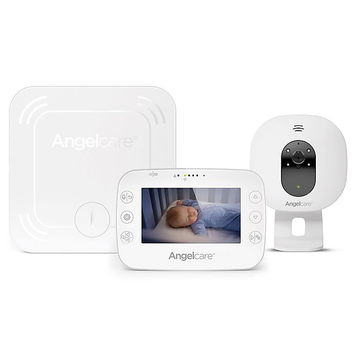 Alternate image 1 for Angelcare® AC327 Baby Breathing Monitor with 4.3-Inch Video